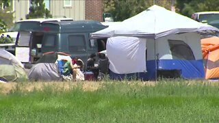 Homeless camp moves from Governor's Mansion to Park Hill