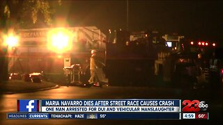 Illegal street racing crash kills woman