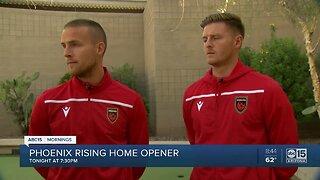 Phoenix Rising home opener Saturday night