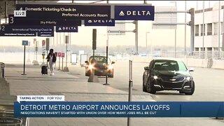 Detroit Metro Airport announces layoffs