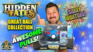 Hidden Fates Great Ball Collection #3 | Shiny Hunting | Pokemon Cards Opening