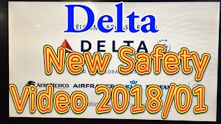 Delta Airline new Safety Video January 2018