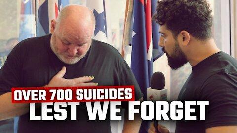 War veterans DEMAND a royal commission into 700+ veteran suicides