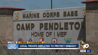 San Diego Troops deploy to Iraq