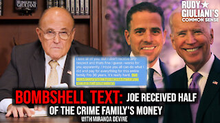 BOMBSHELL TEXT: Joe Received HALF Of The Crime Family's Money | Guest Miranda Devine | Ep. 153