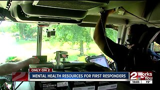 Mental health resources for OK first responders