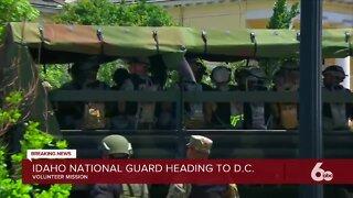 Members of Idaho National Guard headed to D.C.