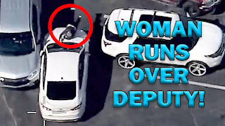 Woman Intentionally Runs Over Cop On Video - LEO Round Table S06E04c