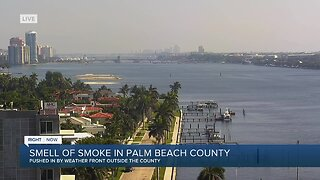 Smell of smoke in Palm Beach County