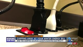 Cutting off energy vampires, and reducing your winter utility bills