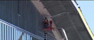 Las Vegas Convention Center possible field hospital site