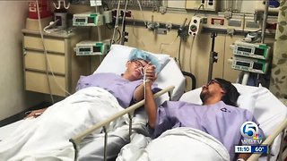 Second chance at life: kidney donor recipient out of hospital with new found bond