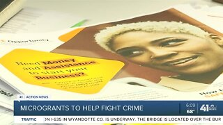 Microgrants to help fight crime