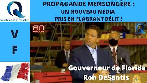 PROPAGANDE MENSONGÈRE : UN NOUVEAU MÉDIA PRIS EN FLAGRANT DÉLIT !
