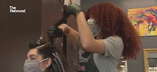 Business booming at Las Vegas specialty salon