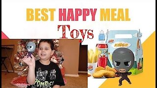 Burger King Kids Meal: Surprise Toy Review