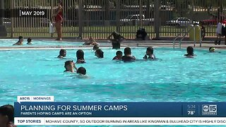 Planning for summer camps in Arizona