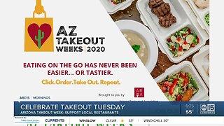 Celebrate Takeout Tuesday in Arizona