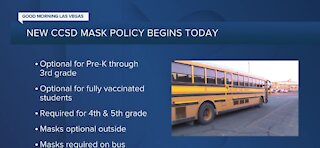 Clark County School District face mask policy changes start June 1