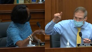 Jim Jordan and Val Demings Get Into Screaming Match As House Hearing Descends Into Chaos