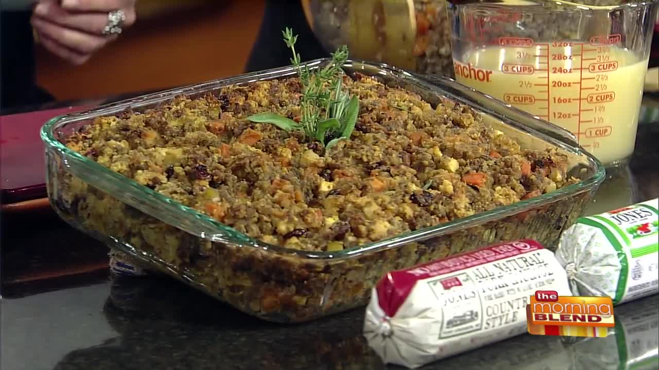 A Sweet & Savory Twist to Your Holiday Stuffing