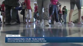 Celebrating educators for Teacher Appreciation Week