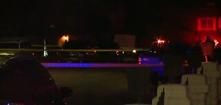 Police investigate domestic-related shooting in west Las Vegas