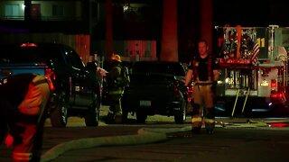 RV catches fire overnight in Phoenix