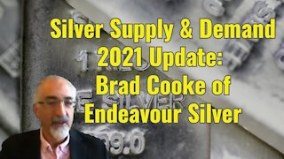 Silver Supply & Demand 2021 Update: w/Brad Cooke of Endeavour Silver