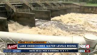 Water levels of Lake Okeechobee rising, discharges possible