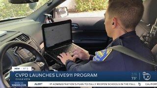 Chula Vista Police Department launches Live911 program