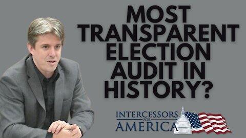Most Transparent Election Audit in History? | Cyber Ninja Doug Logan
