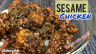 Quick and Easy Sesame Chicken