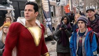 Gal Gadot Congratulates 'Shazam' Star Zachary Levi On A Strong Opening