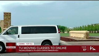 TU moving classes to online