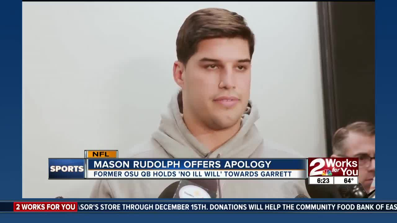 Mason Rudolph apologizes for his action during incident with Myles Garrett