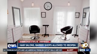 Hair salons, barber shops get green light to open