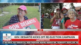 FL Gov. Ron DeSantis Re-Election Campaign Kickoff in West Palm Beach - 4/16/21