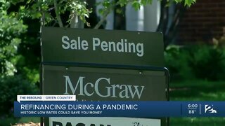 Some turning to refinancing homes during pandemic
