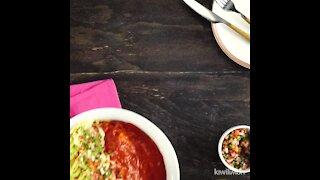 Divorced Beef Enchiladas