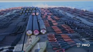 Navy makes weapons seizure