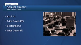 More people are driving again in Denver metro