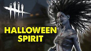 Dead By Daylight Spirit Gameplay 2020   Halloween Spirit   DBD Killer