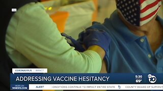 Addressing vaccine hesitancy