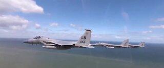 Pilot dead after U.S. Air Force fighter jet crashes