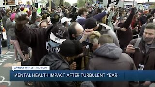 Mental health impact after turbulent year