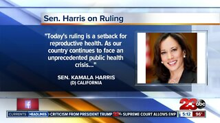Harris issues statement on SCOTUS birth control ruling