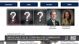Importance of Arizona Corporation Commission