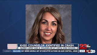 Woman killed after being struck by vehicle identified as Vista High counselor