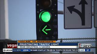 Limo driver sends video of long traffic light to NDOT